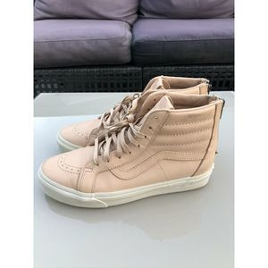 Vans Sk8 Hi Veggie Tan Leather